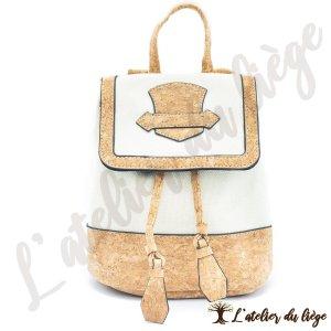 sac en dos pour femme en liege pouves latelier du liege