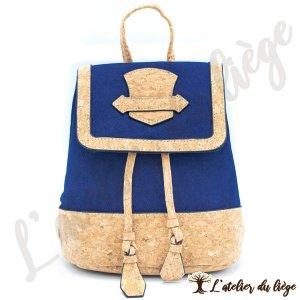 sac en dos pour femme en liege zonho latelier du liege