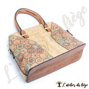 sac en liege pour femme lugarinho - l atelier du liege